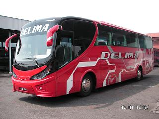 Delima Express Bus